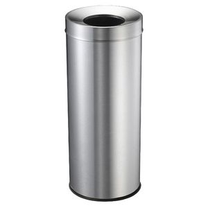 Compass Stainless Steel Tidy Bin 28L