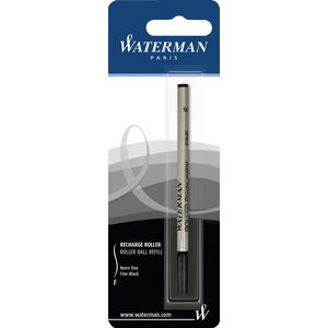 Waterman Rollerball Pen Refill Fine Black