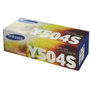 Samsung Toner Cartridge Yellow CLT-Y504S