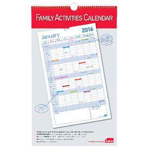 Sasco Family Planning Calendar 2016
