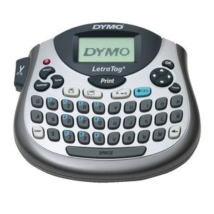 Dymo metatag 100t tabletop label maker silver officeworks dymo metatag 100t tabletop label maker silver stopboris Gallery