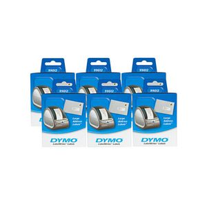 DYMO LabelWriter 99012 Address Labels 89 x 36mm 6 Pack