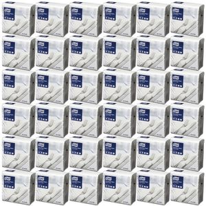 Tork 2 Ply Dinner Napkins White 1200 Pack