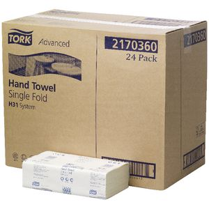 Tork Advanced H31 System Hand Towels 150 Sheet 24 Pack