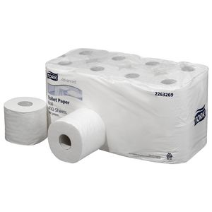 Tork T4 System Advanced Toilet Paper Rolls 400 Sheet 16 Pack