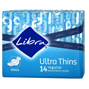 Libra Ultrathin Pad with Wings 6 Pack
