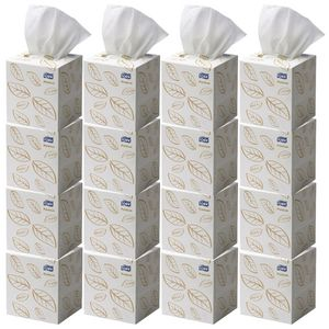 Tork Premium Cube 2 Ply Facial Tissues 90 Sheets 24 Boxes