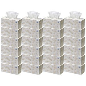 Tork Premium 2 Ply Facial Tissues 224 Sheets 24 Boxes