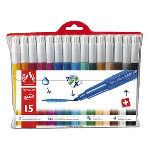 Caran d'Ache Fancolour Large Fibre Tipped Pens 15 Pack
