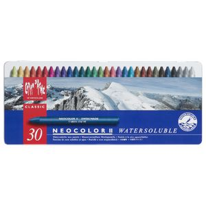 Caran d'Ache Neocolor Water Soluble Wax Pastels 30 Pack