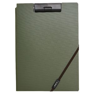 Smart Fit A4 Clip Folder Green