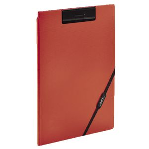 Smart Fit A4 Clip Folder Orange