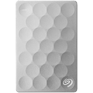 Seagate 2TB Backup Plus Ultra Slim Portable Hard Drive Silver
