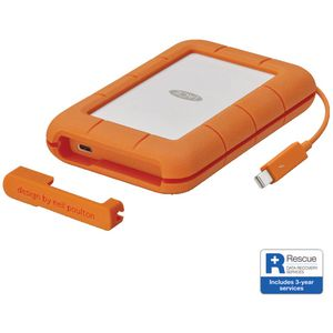 LaCie 5TB Rugged Portable Hard Drive Thunderbolt and USB 3.1