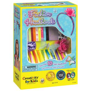creativity for kids fashion headbands kit officeworks