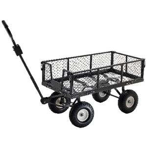 Toplift Utility Cart with Puncture Proof Wheels