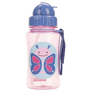 SKIP HOP Zoo Straw Drink Bottle Butterfly