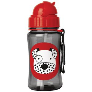 SKIP HOP Zoo Straw Drink Bottle Dalmatian