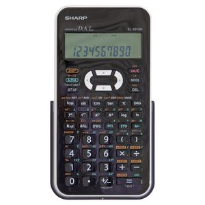 Sharp EL531XHBWH School Scientific Calculator White