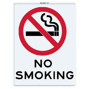 Sandleford No Smoking Sign 22.5 x 30cm