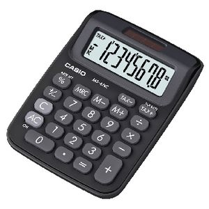 Casio Mini Desktop Calculator 8 Digits Black