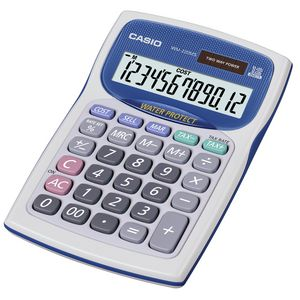 Casio Water and Dust Prof Mini Desk Calculator