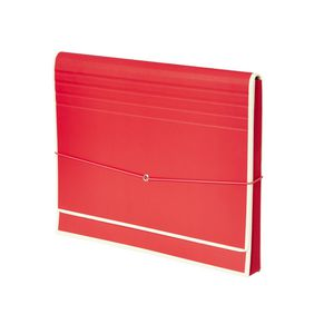 Semikolon Accordion File Red