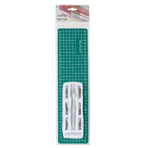 Cutting Mat with Pen Knife Set