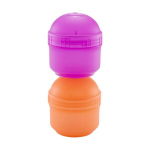 Nude Food Movers Snack Pots Melon and Purple 2 Pack
