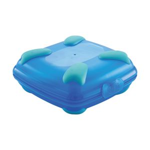 Nude Food Movers Sandwich Box Blue and Teal