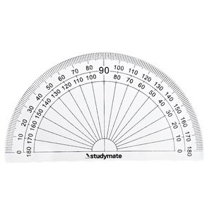 Studymate 180 Degree Protractor