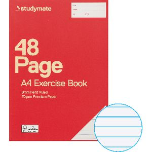 Studymate Premium A4 Exercise Book 48 Page