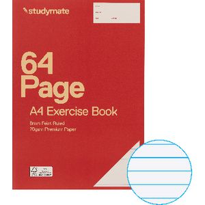 Studymate Premium A4 Exercise Book 64 Page