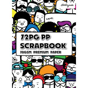 Studymate Premium Scrapbook Assorted 72 Page