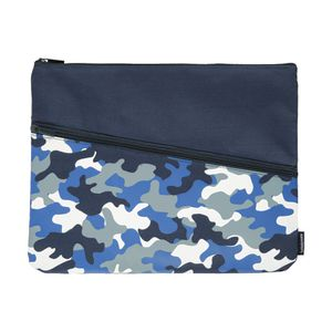 Studymate Twin Zip Pencil Case Large Camouflage