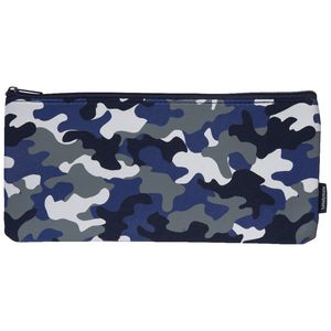 Studymate Single Zip Pencil Case Medium Camouflage
