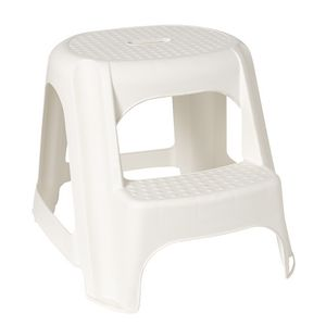 ... Snazzee 2 Step Stool White  sc 1 st  Officeworks & Snazzee 2 Step Stool White | Officeworks islam-shia.org