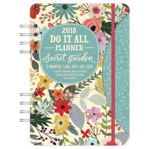 Studio Oh! Do It All 2018 Planner Secret Garden