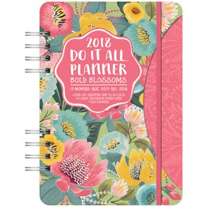 Studio Oh! Do It All 2018 Planner Bold Blossom