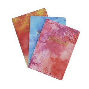 Studio Oh! Notebook Trio Aquarelle 3 Pack