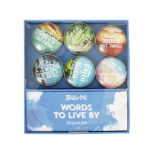 Studio Oh! Magnet Set Words to Live By