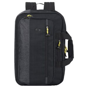 "Solo Velocity 15.6"" Hybrid Backpack Black"
