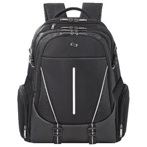"Solo Rival 17"" Laptop Backpack Black"