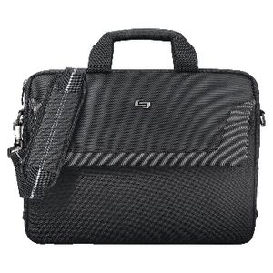 "Solo Sterling 15.6"" Slim Laptop Bag Black"