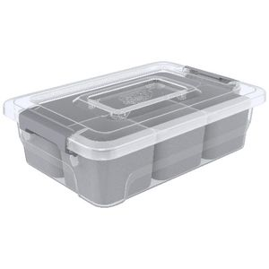 Ezy Storage Sort It 4 Compartment Container at Officeworks in Campbellfield, VIC | Tuggl