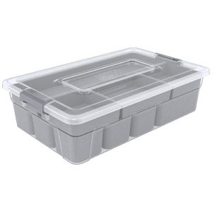Ezy Storage Sort It 9 Compartment Container