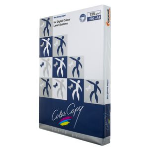Colour Copy A4 Digital Gloss Paper 135gsm 250 Sheet Ream