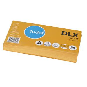 Tudor DLX Kraft Envelopes 50 Pack