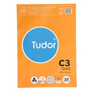 Tudor C3 Envelopes Gold 25 Pack