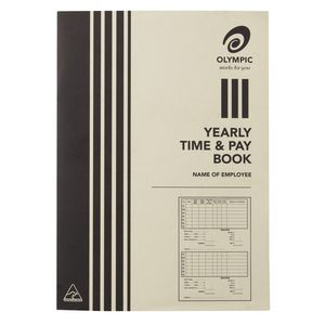Olympic Yearly Time and Pay Book